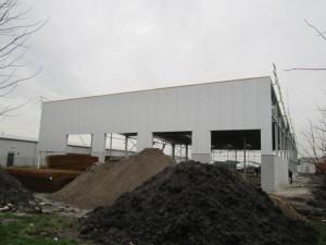 Nieuwbouw Heiwo Coating in februari 2014