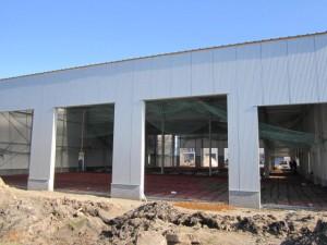 Nieuwbouw Heiwo Coating in maart 2014