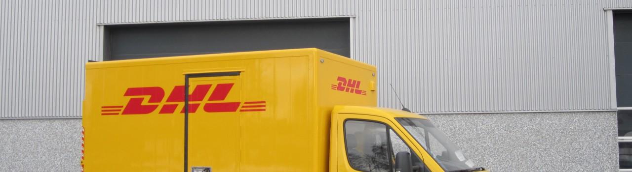 carroserieopbouw DHL- Heiwo carrosseriebouw