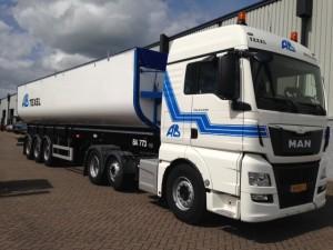 AB Texel met truck