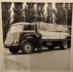 Eerste DAF Moeijes oktober 1962
