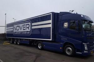 vrachtwagen oplegger